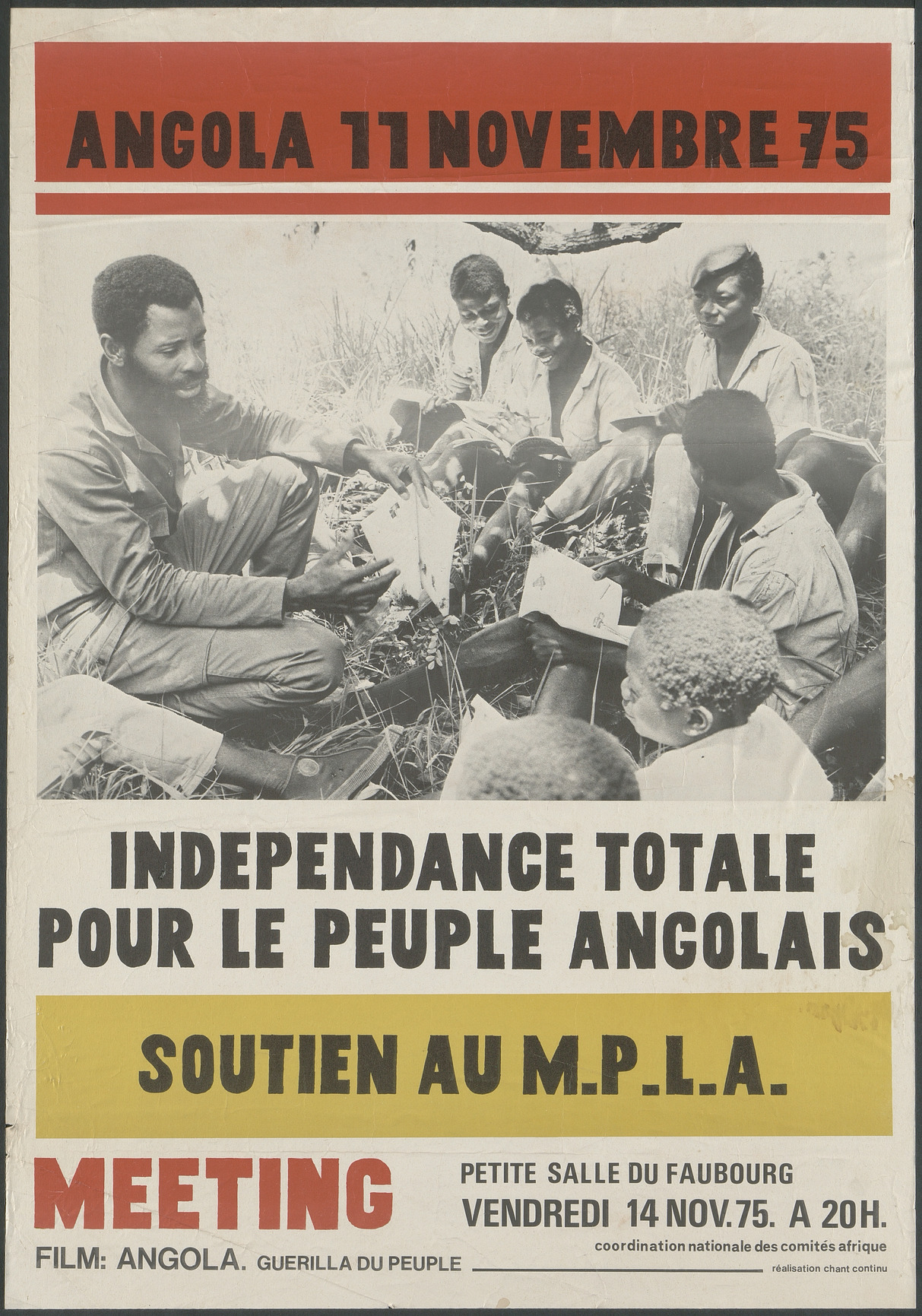 Angola 11 novembre 1975 Aff 0141